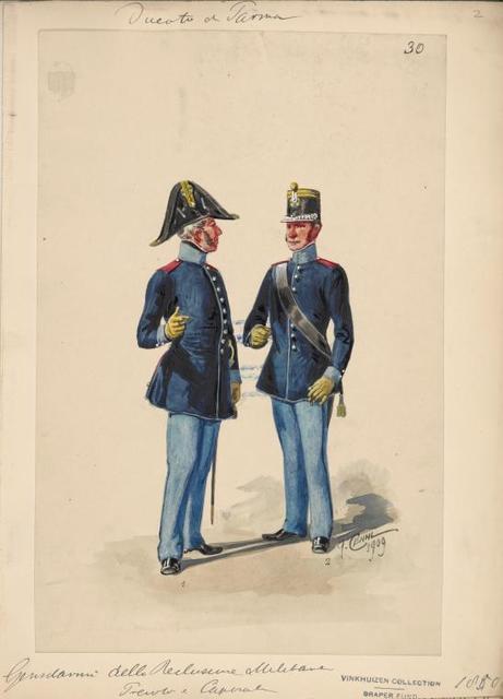 Italy. Parma 1850