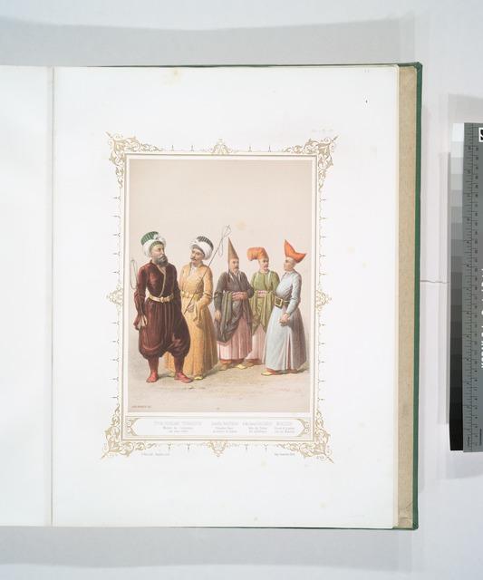 Itch-Oghlan, Maitres de Cérémonies (en sous-ordre), Zuluflù Baltadji, Eunuque blanc au service du harem, Eski Saraï Baltadji, Valet du Palais des ex-Sultanes, Muezzin Crieur de la prière sur les Minarets