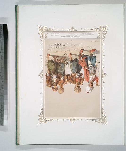 La Distribution de La Soupe (au Corps de Garde), Bach-Karakoulouktchou, Marmiton en chef  (Officier), Karakoulouktchou, Marmitons, Orta Sakassi, Porteur d' eau (Officier)