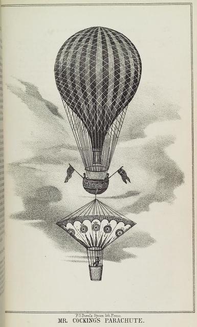Mr. Cocking's parachute