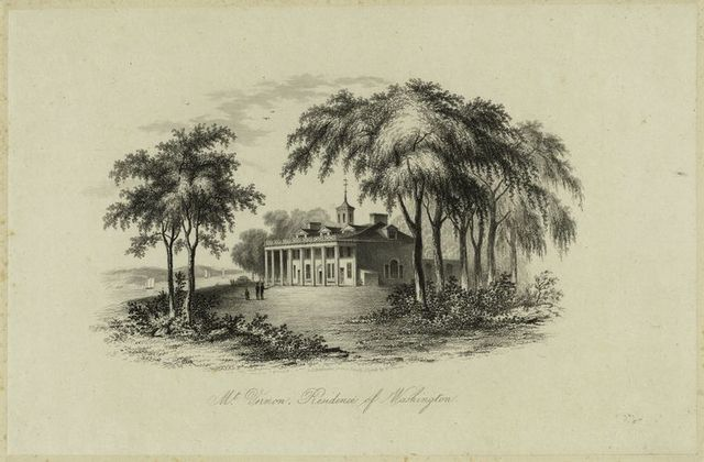 Mt. Vernon, residence of Washington.