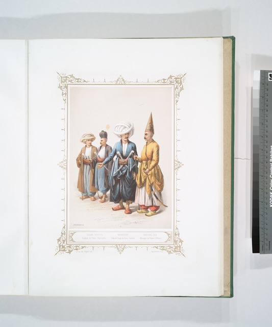 Salma Neferi, Saldats de Police (Patrouille), Nobetchi, Aide de Camp du Lieut. Général, Hasseki Aga, Messager du Palais (Officier)