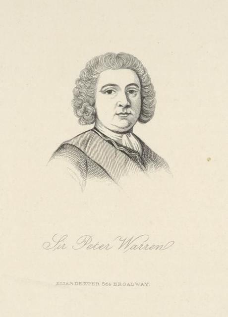 [Sir Peter Warren.]