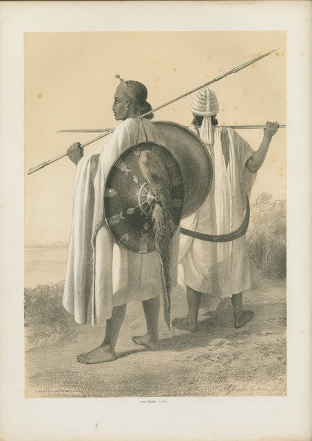 Abyssinian Costumes, etc.