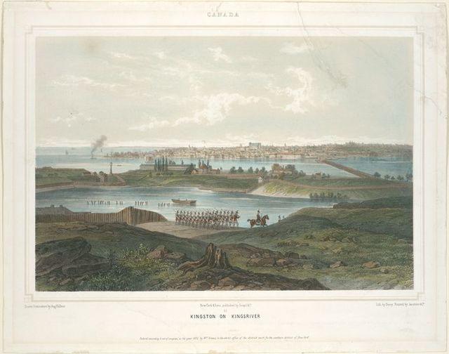 Canada.  Kingston on Kingsriver.