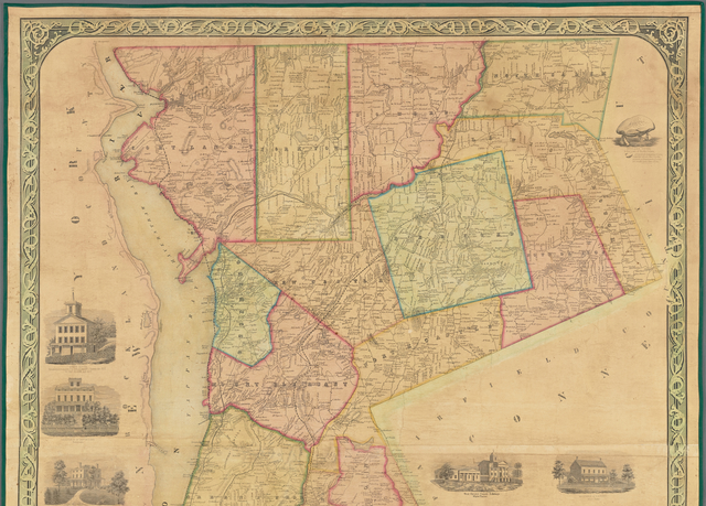 Map of West Chester County, New York: from actual surveys by Sidney & Neff, civil engineers & surveyors.