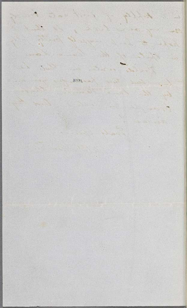 Ticknor, [William D.], ALS to. Jul. 24, 1852.