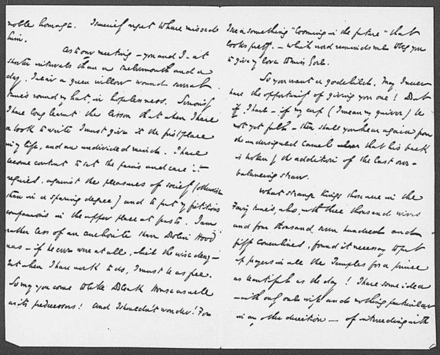 Gore, Mrs. ALS to 1852 Sept. 27