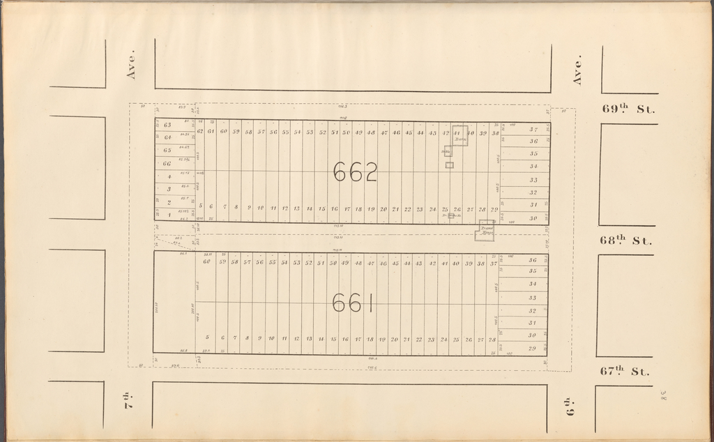 Central Park Planning Map: Bounded by 69th Street, 6th Avenue, 67th Street and 7th Avenue