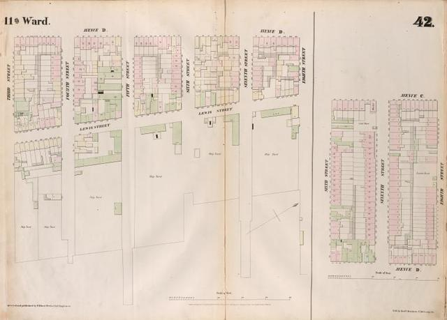 [Plate 42: Map bounded by Eighth Street, East River, Third Street, Avenue D, Sixth Street, Avenue C.]