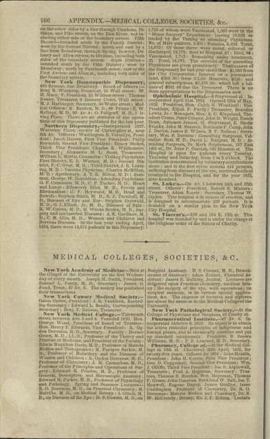 Appendix.--Medical colleges and societies, &c