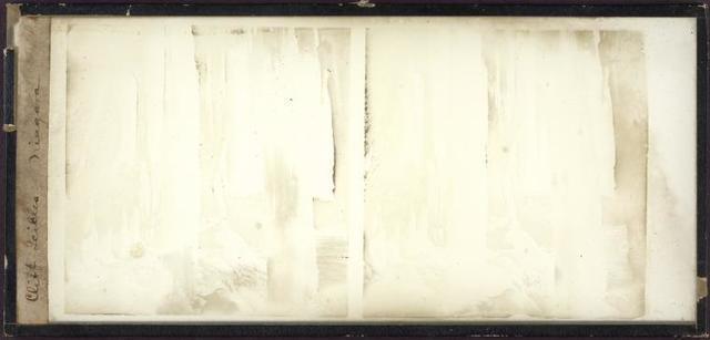 Cliff icicles - Niagara.