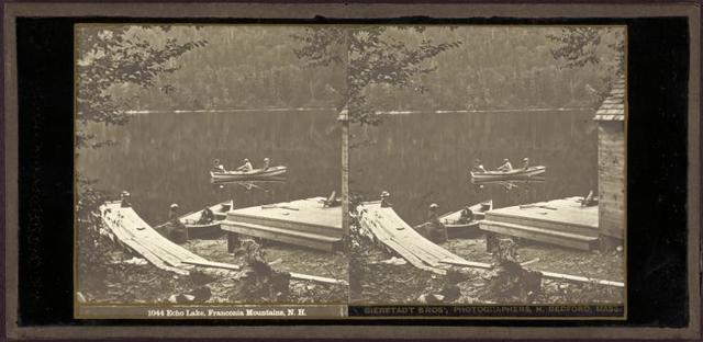 Echo Lake. Franconia Mountains, N. H.