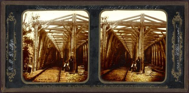 R.R. bridge near Williamsport.
