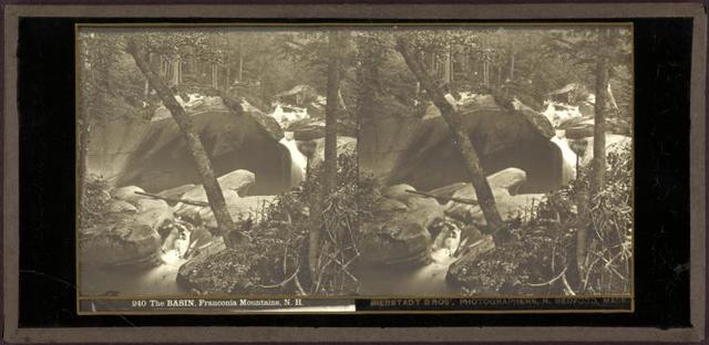 The basin. Franconia Mountain, N. H.