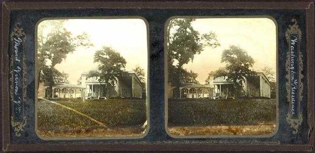 Washington's residence. Mount Vernon, VA.