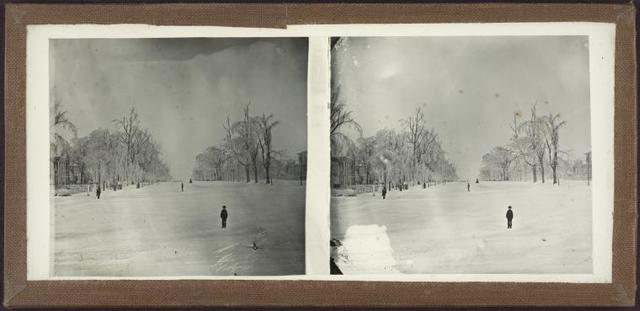 [Winter scene, unidentified location.]
