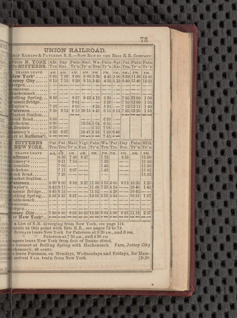 American railway guide, and pocket companion, for the United States. Feb. 1853, June 1854