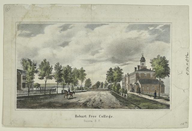 Hobart Free College.  Geneva, N.Y.