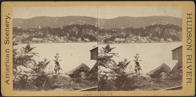 Hudson River R.R. & Hudson River.