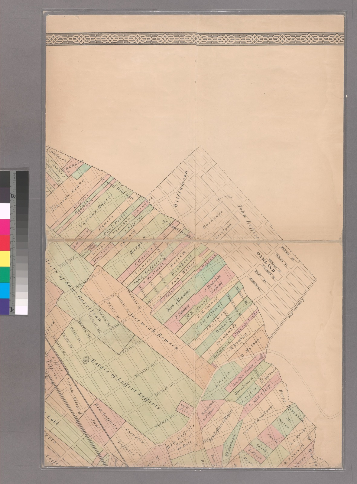 Plan of the city of Brooklyn, L.I.