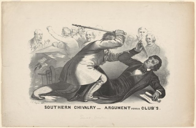 Southern chivalry - argument versus club's.
