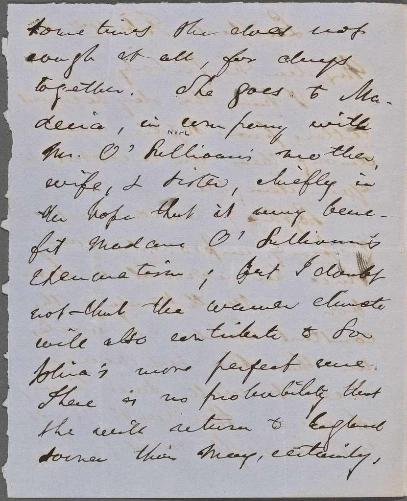 Peabody, [Nathaniel Cranch], ALS to. Feb. 15, 1856.
