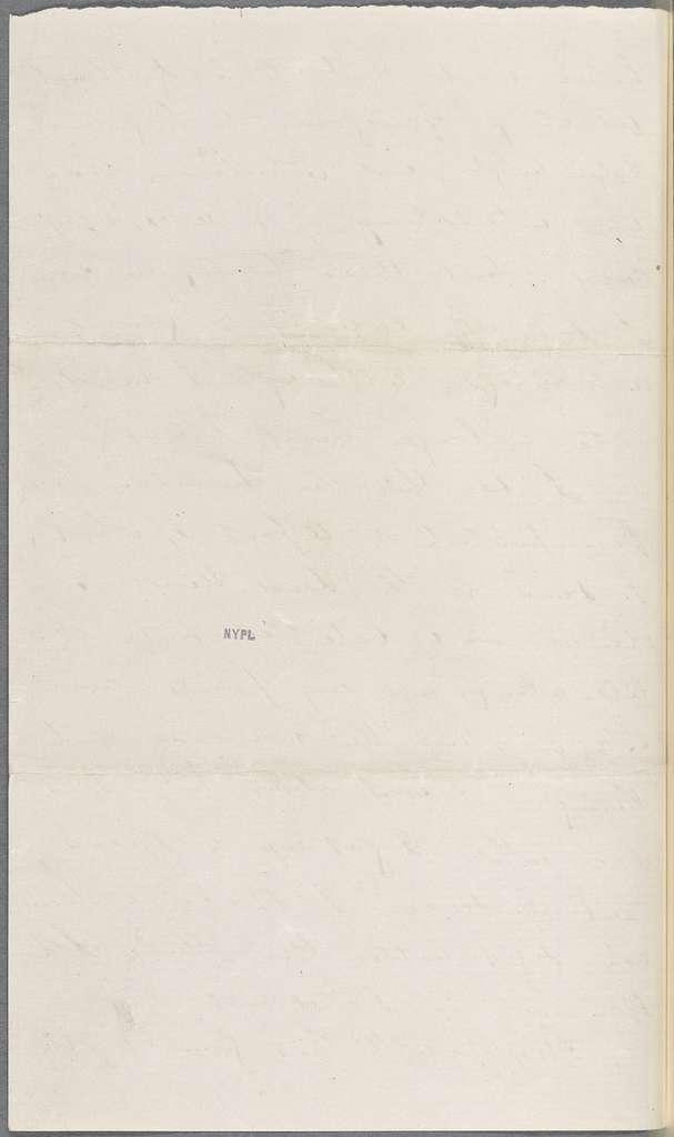 Ticknor, [William D.], ALS to. May 10, 1856.