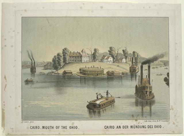 Cairo, mouth of the Ohio.