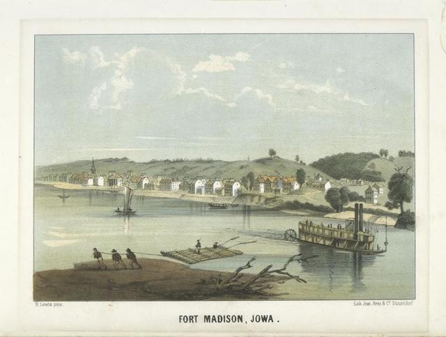 Fort Madison, Iowa.