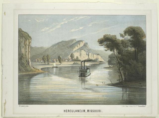 Herculaneum, Missouri.