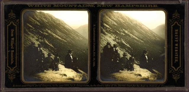 Mount Webster, from Willard Mountain.