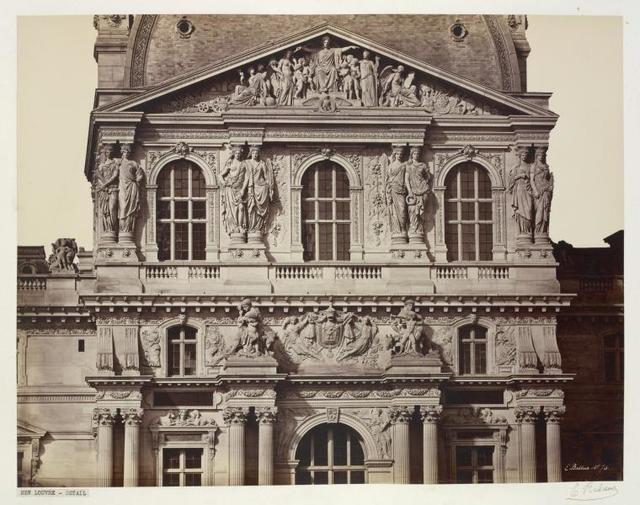 Pavillon Richelieu- Detail