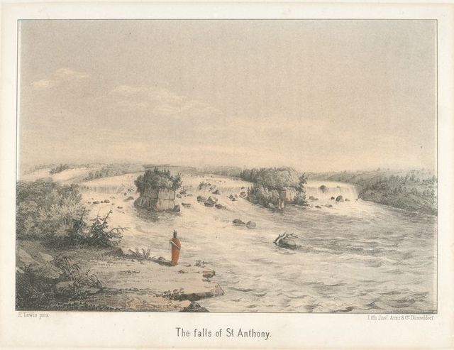 The Falls of St. Anthony.