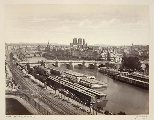 Ile de la Cité, general view
