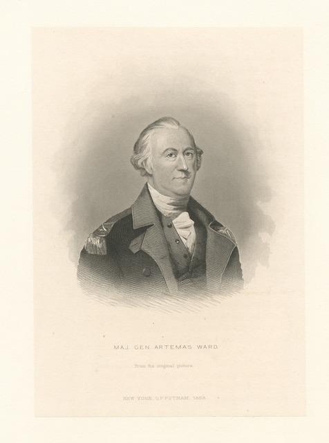 Maj. Gen. Artemas Ward.