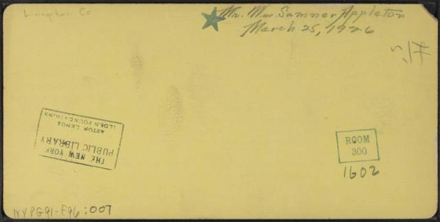 Trout Ponds, Annin's Grove, Caledonia, N.Y.