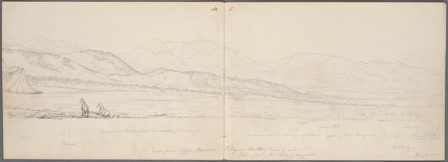 View from Upper Camp Floyd, Cedar Valley west of Lake Utah