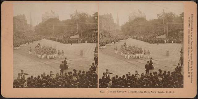 Grand Review, Decoration Day, New York, U.S.A.