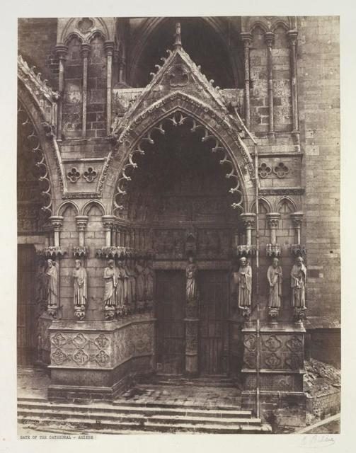 Amiens. Porte de la Vierge