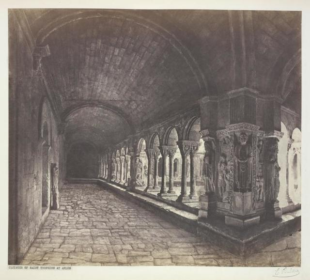 Cloister of Saint Trophime at Arles.