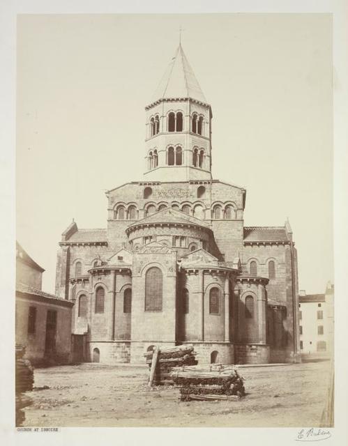 Eglise d' Issoir.