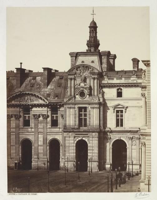 Louvre- Pavillon de Rohan.