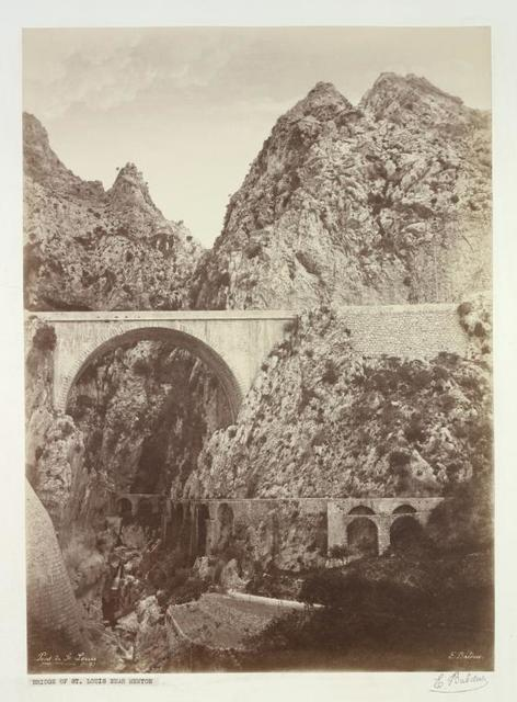 Pont de St. Louis pres Menton.