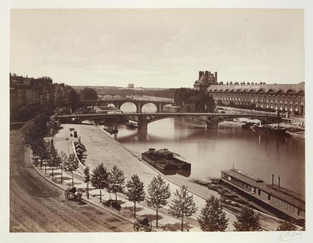 Pont Royal and Louvre