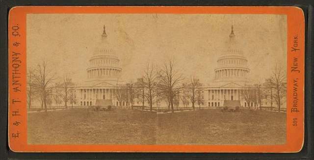 East Front of the Capitol, from the South East.