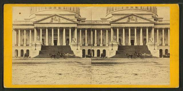 Eastern Portico of the Capitol.