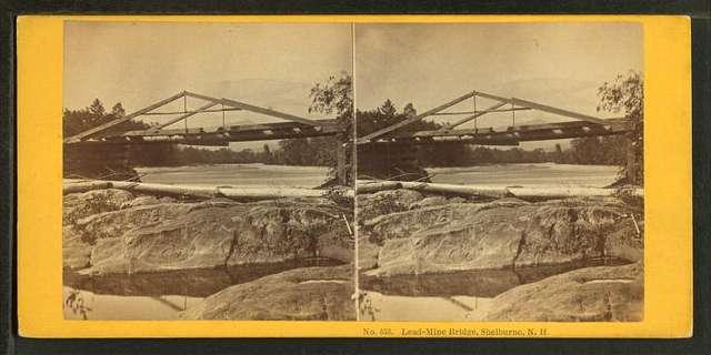 Lead-Mine Bridge, Shelburne, N.H.