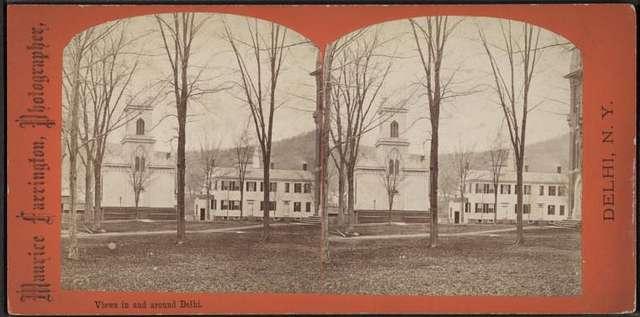 M.E. Church & Old Academy.