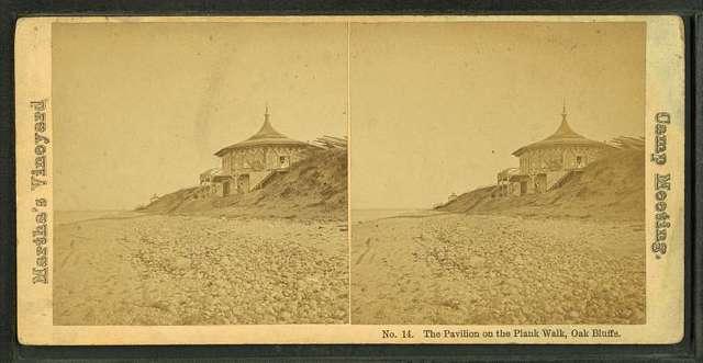 The Pavillion on the Plank Walk, Oak Bluffs.